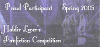 2nd place in The Marchwarden's Choice competitive story challenge at Haldir Lovers, Spring 2005